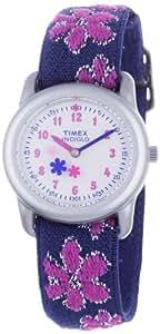 Timex Classic Mädchen-Armbanduhr Analog Textil T74951