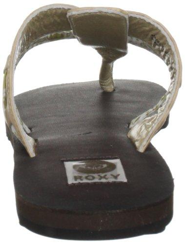 Roxy Noccina XMWSL323, Infradito donna Marrone (Metalic Champag)