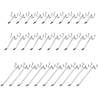 Ganchos para Tablero 50mm 100mm 150mm Ganchos Paneles Perforados Ganchos para Pizarra Surtido Conjunto de 30