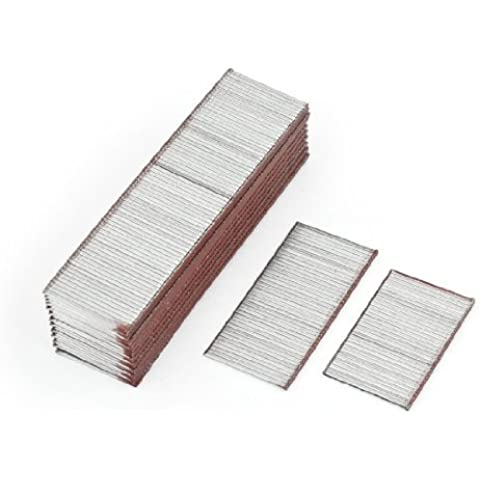 Water & Wood 1875 Pcs 25mm Long Galvanized Steel 1.26mm Width 18 Gauge Brad Nails