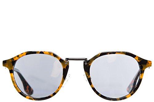MCQ Alexander McQueen occhiali da sole uomo arancio