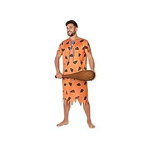 Atosa-53878 Disfraz Cavernícola, Color Naranja, X l (53878