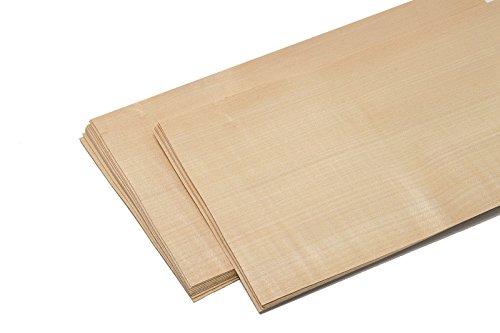 15–17furniere in der tipo di legno di betulla. Impiallacciatura adatto per: Modellismo, Lavori, restauration, fai da te, intarsiato