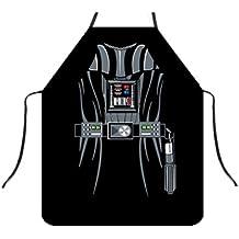 Divertido delantal de cocina, Lady de las niñas, Chef camarera delantal Wonder Lady cocinar y asar, gran bolsillo para mujer hsw-015