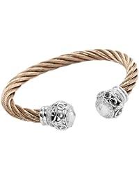 Burgmeister Jewelry Damen-Armspange 925 Sterling Silber Zirkonia JBM3016-521
