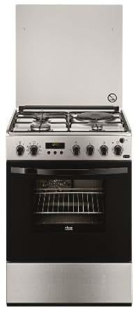 Faure FCM6560PXA Autonome Combi hob A Acier inoxydable four et cuisinière - Fours et cuisinières (Cuisinière, Acier inoxydable, boutons, Rotatif, Combi, Small, Moyen)