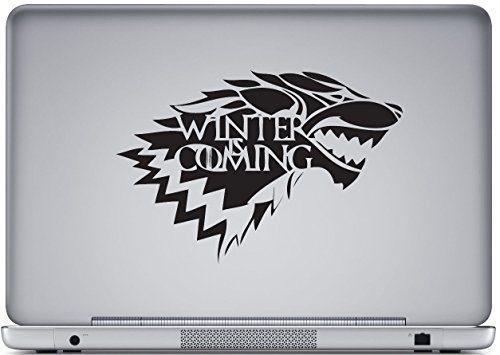 Juego Tronos winter is coming pegatina LOGO PEGATINA