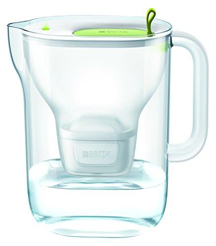 BRITA Wasserfilter Style XL hellgrün inkl. 1 MAXTRA+ Filterkartusche - Großer BRITA Filter in modernem Design zur Reduzierung von Kalk, Chlor & geschmacksstörenden Stoffen