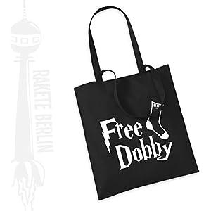 Jutebeutel Stoffbeutel ' Free Dobby '