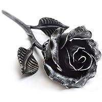 Rosa Eterna Hierro Forjado color Plata- Regalo exclusivo para ella para el Aniversario de Bodas, Sant Jordi, San Valentin, el día de la Madre, el Cumpleaños, la Navidad
