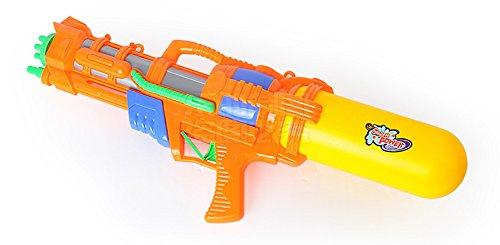 TREESTAR Übergroße Wasser Jet Spielzeug High Druck Range Shooting Kind Shooting Spielzeug Strand Wasser Spritzwasser Spielzeug Gelb (eine für Verkauf) Größe 51cm * 20cm