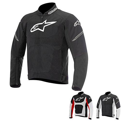 AlpinestarsViper Air Jacket –Cazadora para moto, color negro y blanco