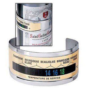 Maison Futée - Thermomètre anneau de bouteille