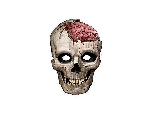 SiDeSo® Maske Totenkopf Halloween