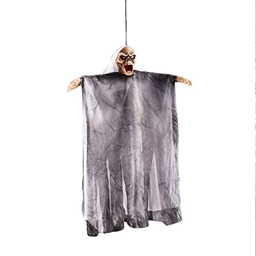 Dekoration Creepy Scary Hängende Geist Halloween Hausgarten Hof Party Supplies Spukhaus Requisiten ()