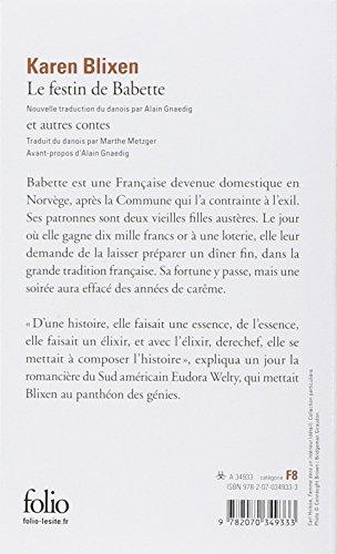 Le festin de Babette et autres contes
