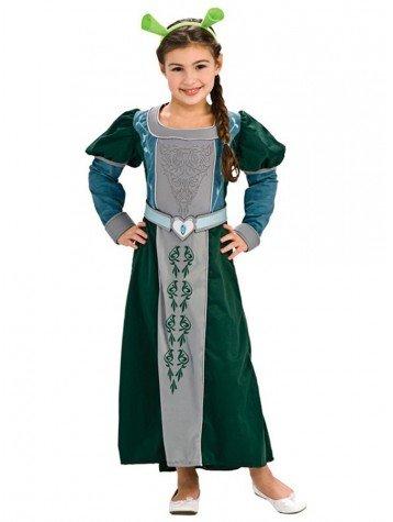 Fiona Kostüm - Fiona Kostüm Shrek Forever - 127/137 cm