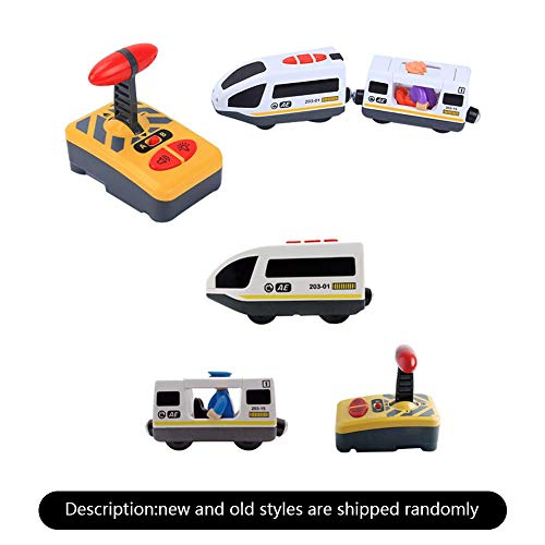 Goodtimera Petit Train Train Jouet Électrique, Train Electrique pour Enfants Compatible avec La Piste en Bois De Thomas IKEA BRIO pour Cadeau d'anniversaire Enfant