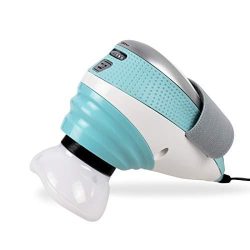 HoMedics Appareil de massage cellulite à percussion avec chaleur, 3 attaches massage, traitement jambes/ bras, favorise...