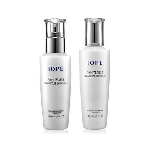 iope-whitegen-2-piece-set-whitegen-clearing-softener-150ml-luminous-emulsion