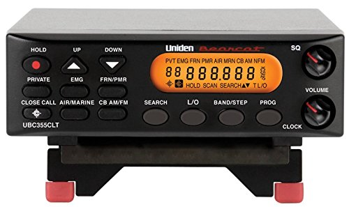 Uniden UBC355CLT Boden-Scanner-Empfänger Digitale Antenne Marine