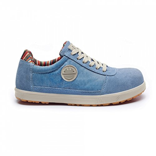 SCARPA ANTINFORTUNISTICA DIKE SERIE LADY D. MOD. LEVITY S1P SRC COL. CIELO - ART. 25616.805 - 100% MADE IN ITALY - NR. 41