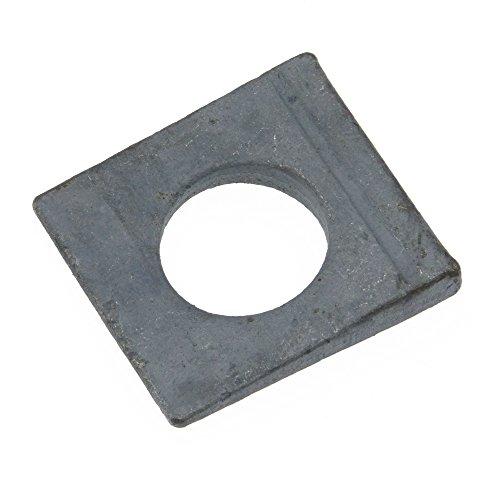 Scheibe DIN 435 Stahl feuerverz. ÜH vierkant Neigung 14% keilförmig 9 - 100 Stück