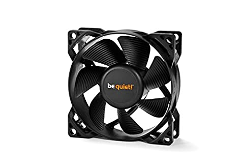 be quiet! BL044 Pure Wings 2 80 mm 3-Pin Case Fan Cooling Device - Black