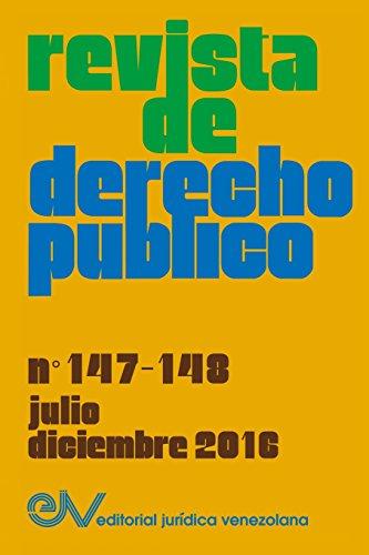 REVISTA DE DERECHO PÚBLICO (Venezuela), No. 147-148, julio-diciembre 2016