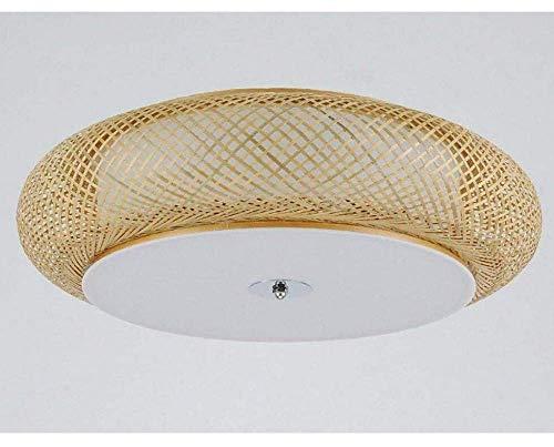 Deckenleuchten Lampen Kronleuchter Pendelleuchten Schlafzimmerlampe Runde Teeraum Bambuslampe Japanische Antike Tatami Bambuslaterne Laterne Bar Beleuchtung für Schlafzimmer Wohnzimmer Küche Gang Res -