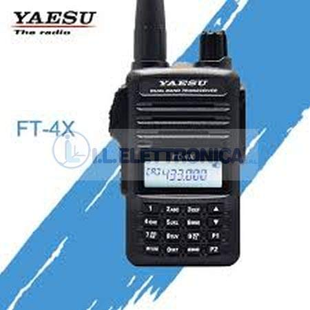 YAESU FT4XE Walkie Talkie Bibanda VHF/UHF 144 -440 Mhz PINGANILLO PIN19M