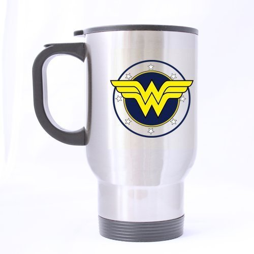 Wonder-Woman Logo Customized Design Travel Mug(Tasses à café) Coffee Mug(Tasses à café) Creative Sport Cup Personalized Tea Cup 14OZ