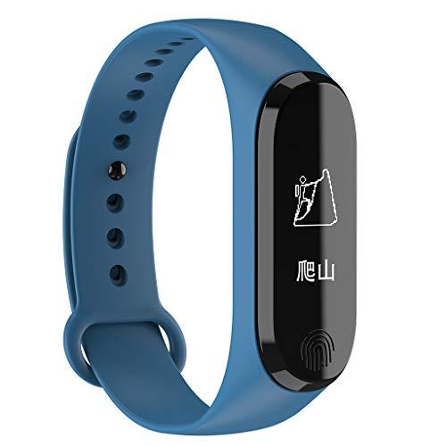 Laile Fitness Tracker, Smartwatch Wasserdicht Fitness Armband mit Pulsmesser Farbbildschirm Aktivitätstracker Pulsuhren Schrittzaehler Uhr Smart Watch Fitness Uhr für Damen Herren