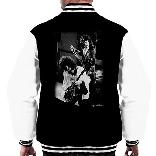 Queen Manchester Palace 1974 Men's Varsity Jacket Black/White