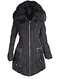 Damen Lagenlook Ballon Winter Jacke Parka Mantel warm 40 42 44 46 48 50 M L  XL 03b140b2bb