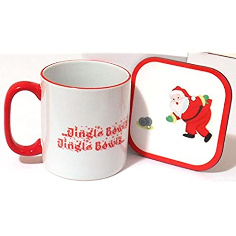 Christmas & Mug Coaster Set di ciotole