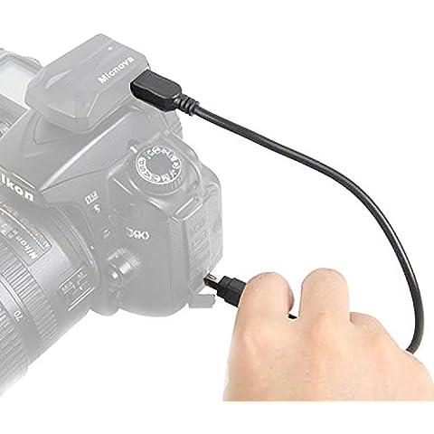 Micnova GPS-N-7 cable de GPS de cámara para nikon d3100 d3200 d5000 d5100 d7000 d7100 d90 d600 coolpix
