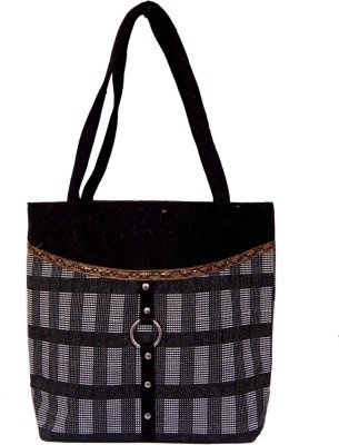 8. Womaniya Jute And Canvas Women's Handbag
