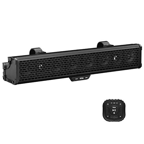 BOSS Audio Systems BRRC27 500w Powered Sound Bar + Bluetooth Controller + Dome Licht RZR/ATV / UTV -