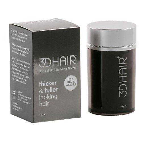 3D Hair Loss Fibres Black 10g
