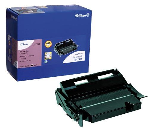 Pelikan Toner-Modul 1173HC ersetzt Lexmark 12A7462, Schwarz, 21000 Seiten