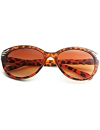 Stylish Cat Eye Look Goggle/Sunglass In Brown Color, Classic Wayfarer UVA/UVB Protected Sunglasses For Women By...