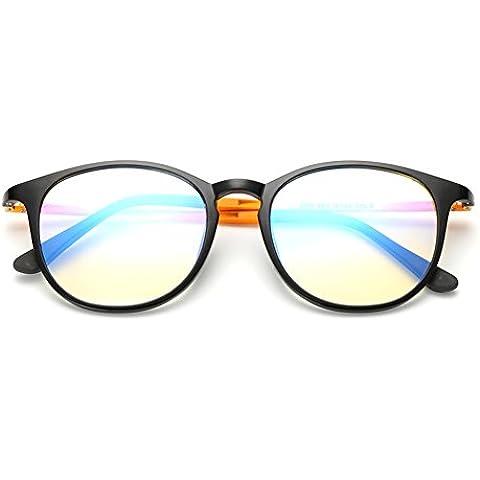ZWX Occhiali MS anti-Blu-ray/Unisex occhiali resistenti alle radiazioni/Occhiali di protezione resistenti-B