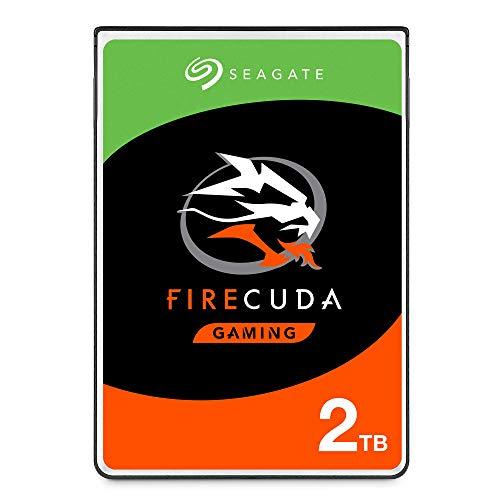 SeagateST2000LXZ01 FireCuda 2 TB, SSHD intern Festplatte (6, 35 cm (2, 5 Zoll), 7 mm dünn, SATA 6 Gb/s, silber, FFP (Frustfreie Verpackung))