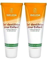 Weleda Duo Gel dentifrice enfant dents de lait 50mlX 2 soit 100ml