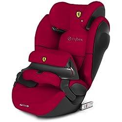 CYBEX Silver Siège Auto Évolutif Pallas M-Fix SL Scuderia Ferrari, Adapté aux Voitures Avec ou Sans ISOFIX, Groupes 1/2/3 (9-36 kg), De 9 Mois à 12 Ans Environ, Racing Red