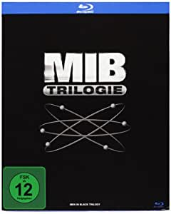Men in Black 1-3 – Box [Blu-ray]: Tommy Lee Jones, Will Smith, Barry Sonnenfeld