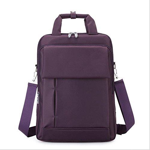 Z&HXComputer Rucksack Laptoptaschen Laptop-Tasche und weise beil?ufige wasserdichte Multifunktions Purple
