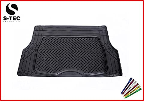 HONDA PRELUDE 96-01 - S-Tech Luxury Rubber Boot Liner Attractive Design|Durable Heavy Duty Trunk Mat Protector Washable Trimmable |FREE S-TECH PEN