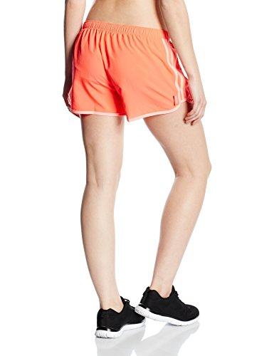 Beinkleid adidas marathon 10 short pour femme Orange - Coral